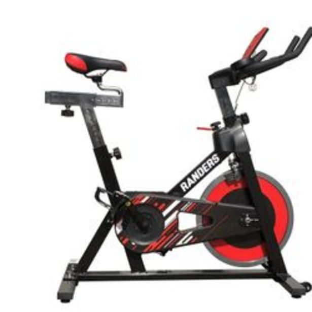 Oferta de Bicicleta de Spinning con Banda Elástica Randers ARG-880SP-R por $64999