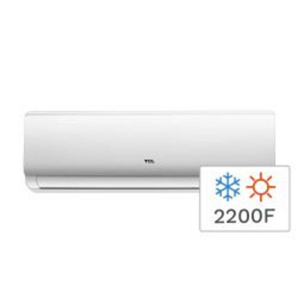 Oferta de Aire Acondicionado Split Frío/Calor TCL TACA-2600FCSA 2200F 2600W por $42999
