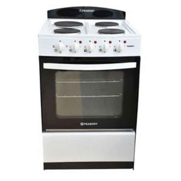 Oferta de Cocina Eléctrica Peabody Blanca 56cm por $48999