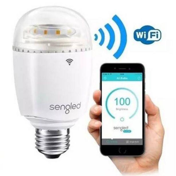 Oferta de Lámpara LED 8w + repetidora de wifi por $2790