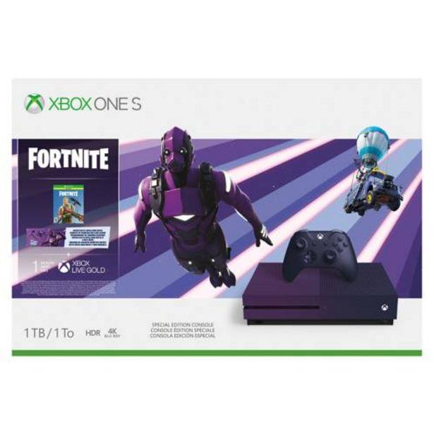 Oferta de Consola X-Box One S Fortnite edition 23C-00081 por $49999