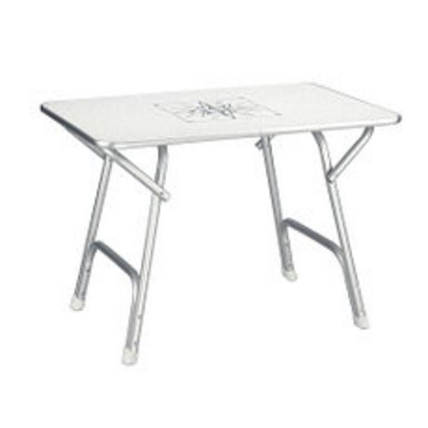 Oferta de Mesa Aluminio Nautica Plegable 88X60 Cm por $11990
