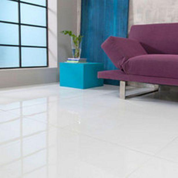 Oferta de Piso Porcelanato Pulido Blanco 60x60 Cm. por $2446,56