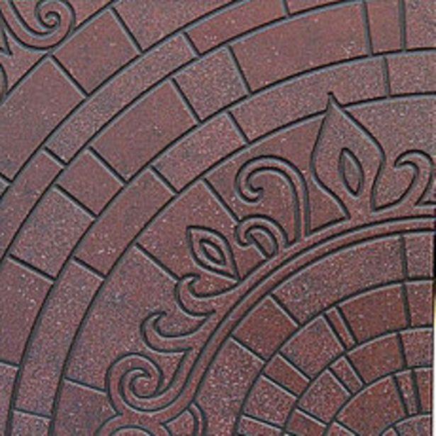 Oferta de Piso Cerámico Terra Negro 45x45cm por $1373,46