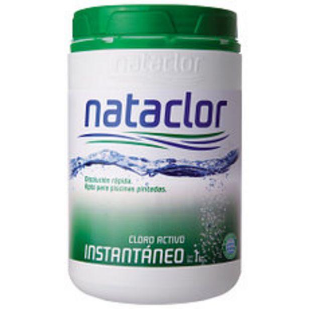 Oferta de Cloro Granulado Instantaneo 1Kg Nataclor por $1350