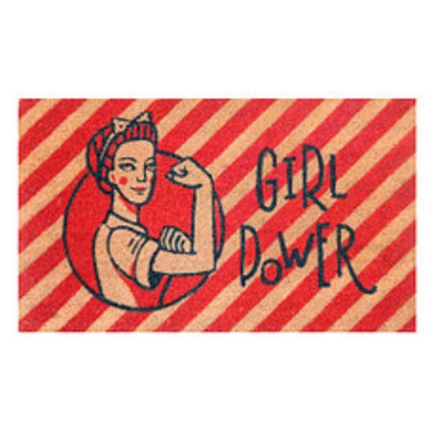 Oferta de Felpudo 45x75 Cm. Girl Power por $664,3
