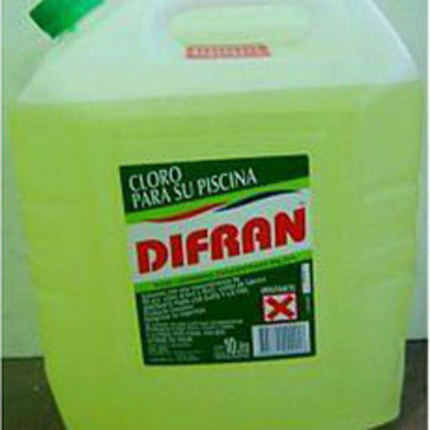 Oferta de Cloro Liquido 5 Lt Difran por $435