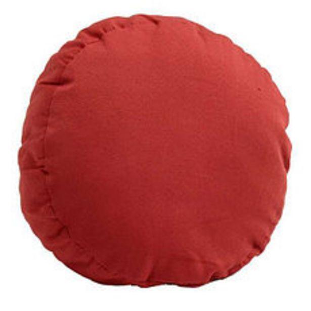 Oferta de Almohadón Redondo Liso Tomate por $679