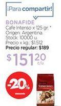 Oferta de Cafe Intenso x 125 gr. por