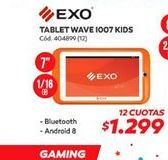 Oferta de Tablet wave io07 kids Exo por