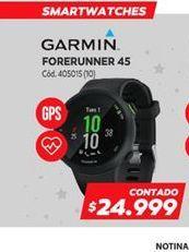 Oferta de Garmin forerunner 45 por
