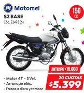 Oferta de Motomel s2 base 150cc por