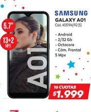 Oferta de Samsung Galaxy A01  por