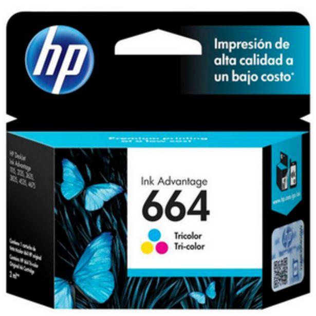 Oferta de CARTUCHO DE TINTA HP HP 664 TRI-COLOR por $1599