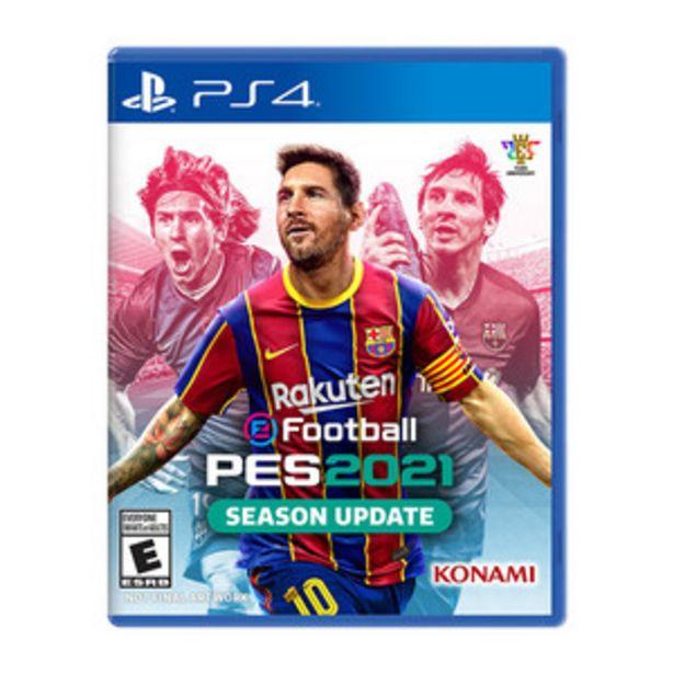 Oferta de JUEGO PS4 PES 2021 PRO EV. SOCCER por $3699