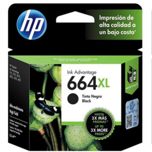 Oferta de CARTUCHO DE TINTA HP HP 664XL NEGRO por $4149