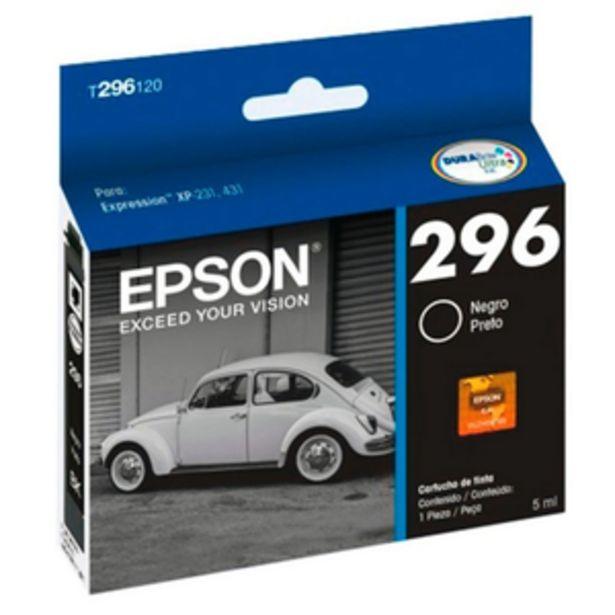 Oferta de CARTUCHO DE TINTA EPSON T296120-AL NEGRO por $819