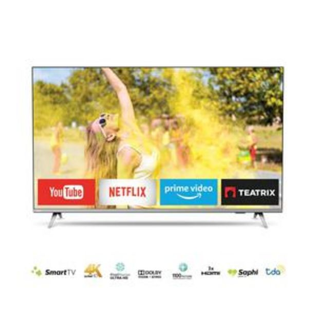 Oferta de SMART TV PHILIPS 50 PULGADAS 4K UHD 50PUD6654/77 por $55099