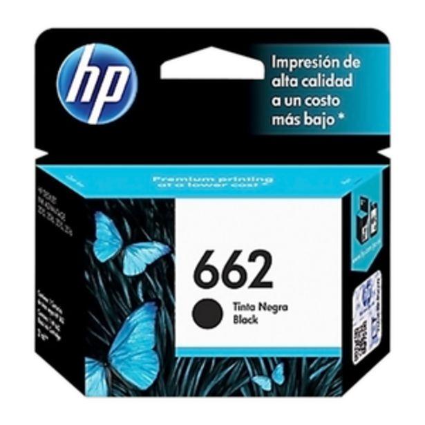 Oferta de CARTUCHO DE TINTA HP 662 BLACK INK CZ103AL por $1599