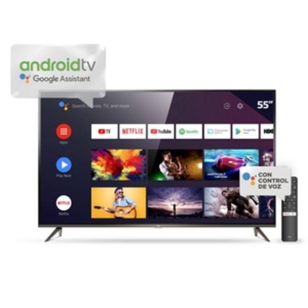 Oferta de ANDROID TV TCL 55 PULGADAS 4K UHD L55P8M por $61999
