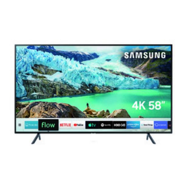 Oferta de SMART TV SAMSUNG 58 PULGADAS 4K UHD UN58RU7100GCZB por $76999