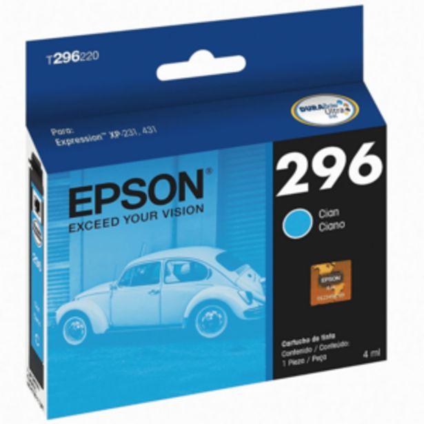 Oferta de CARTUCHO DE TINTA EPSON T296220-AL CYAN por $1000