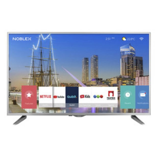 Oferta de SMART TV NOBLEX 43 PULGADAS FULL HD DJ43X5100 por $32399,1