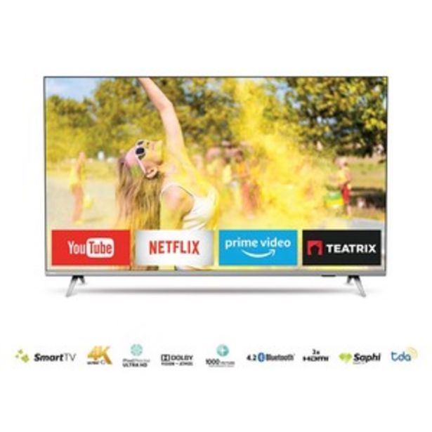 Oferta de SMART TV PHILIPS 55 PULGADAS 4K UHD 55PUD6654/77 por $75199
