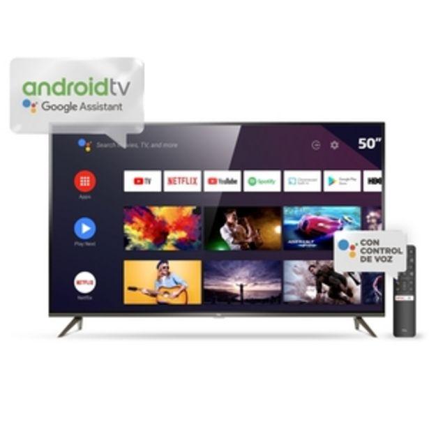 Oferta de ANDROID TV TCL 50 PULGADAS 4K UHD L50P8M por $53999