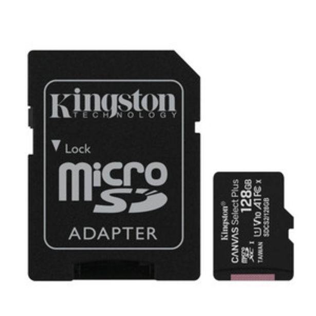 Oferta de TARJETA DE MEMORIA KINGSTON SDCS2/128GB por $2999
