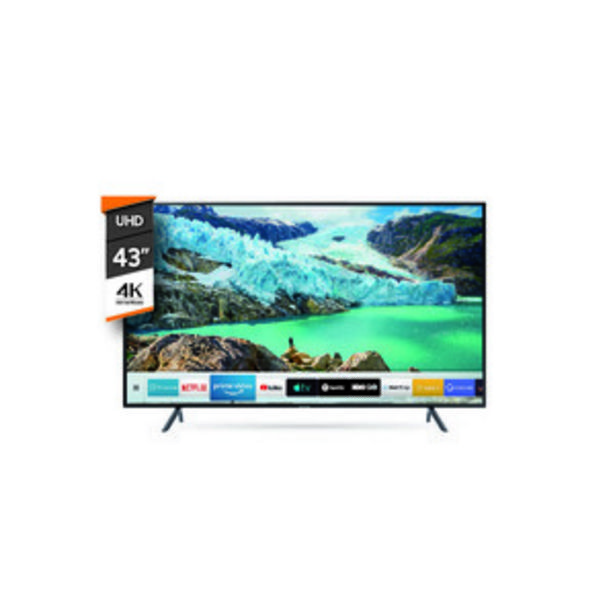 Oferta de SMART TV SAMSUNG 43 PULGADAS 4K UHD UN43RU7100GXZD por $49999