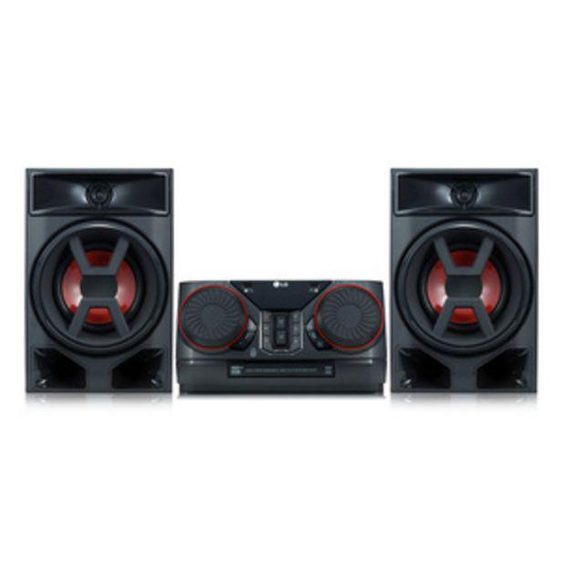 Oferta de MINICOMPONENTE LG CK 43 300W por $25999