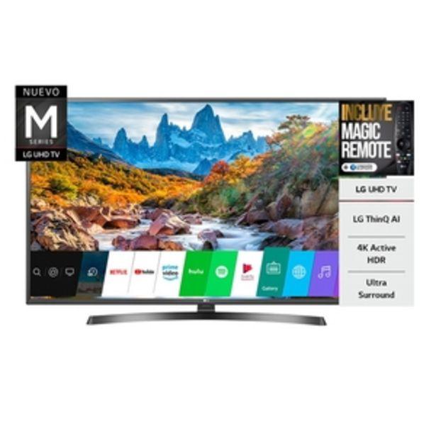 Oferta de SMART TV LG 60 PULGADAS 4K UHD 60UM7270 por $104999