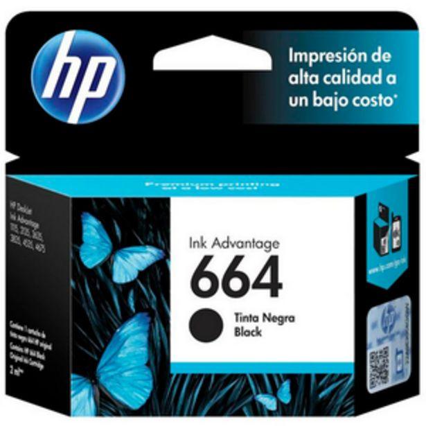 Oferta de CARTUCHO DE TINTA HP HP 664 NEGRO por $1599