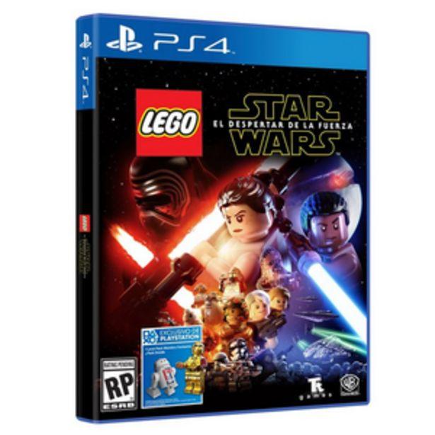 Oferta de LEGO STAR WARS DESP. PS4 por $1899