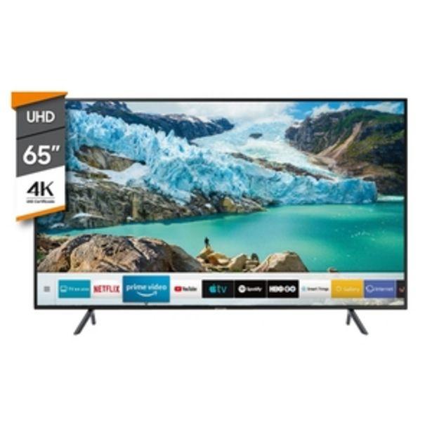 Oferta de SMART TV SAMSUNG 65 PULGADAS 4K UHD 65RU7100 por $112999