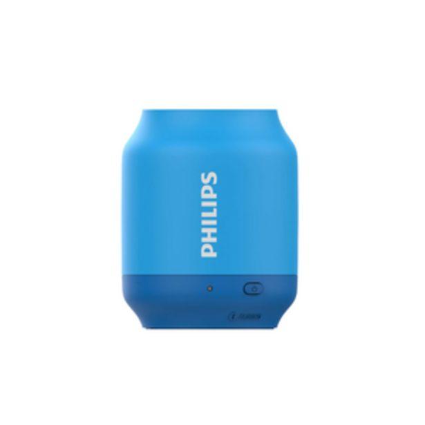Oferta de PARLANTE BLUETOOTH PHILIPS BT51A/00 por $1599
