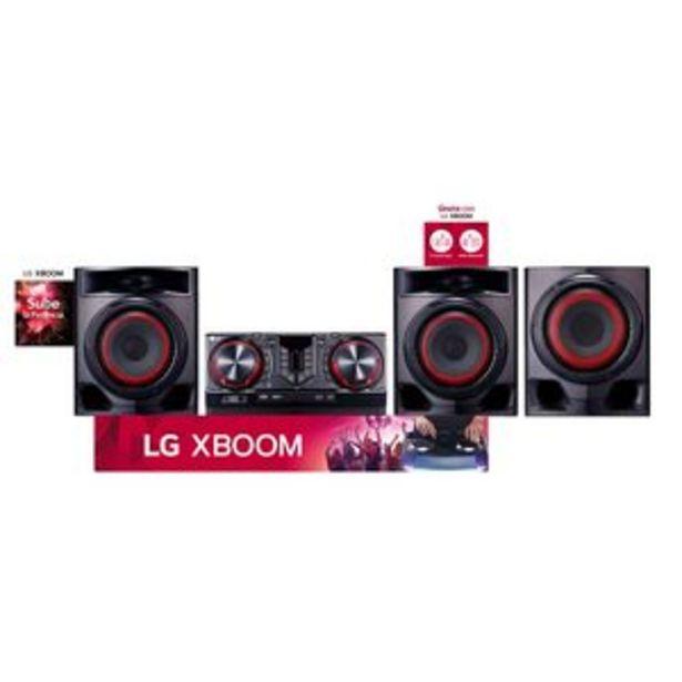 Oferta de MINICOMPONENTE LG CJ45 por $34999