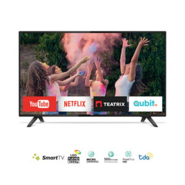 Oferta de SMART TV PHILIPS 43 PULGADAS FULL HD 43PFG5813/77 por $37999