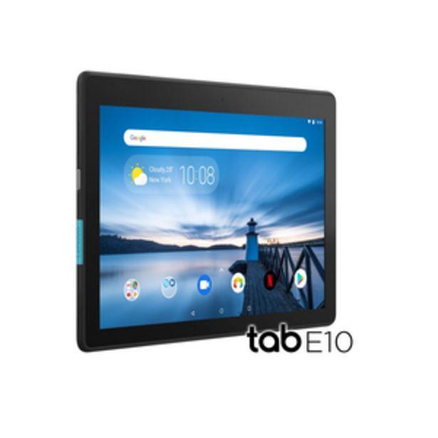 Oferta de TABLET LENOVO TB104 HD 16 GB NEGRO por $21999