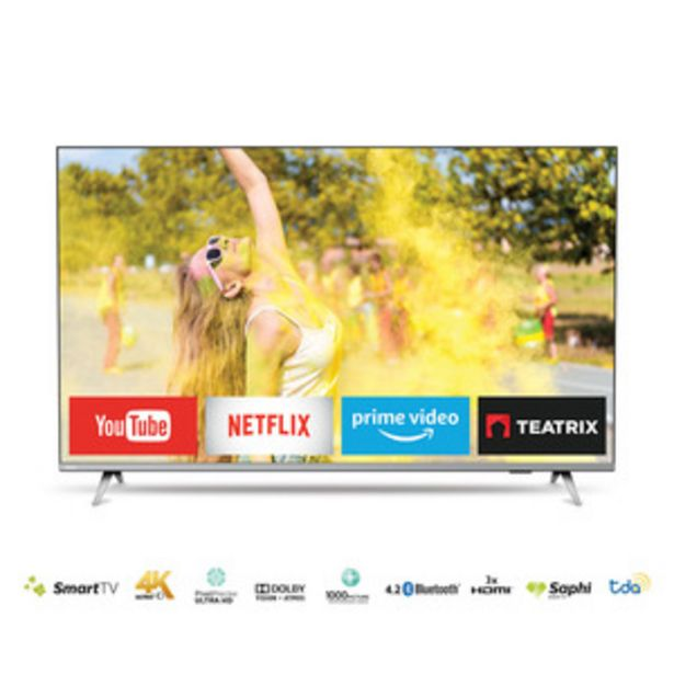 Oferta de SMART TV PHILIPS 58 PULGADAS 4K UHD 58PUD6654/77 por $74999