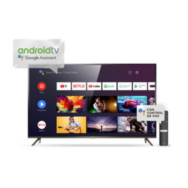 Oferta de SMART TV TCL 75 PULGADAS 4K UHD L75P8M por $169999