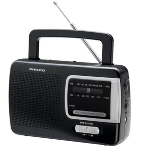Oferta de RADIO PORTATIL PHILCO PRM50 por $1899