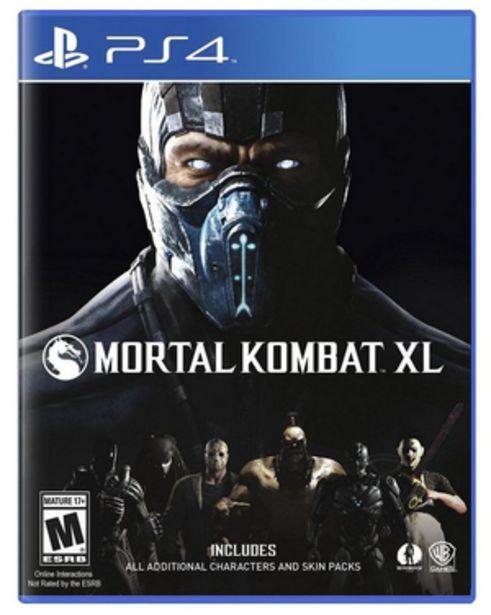 Oferta de MORTAL KOMBAT XL PS4 por $2999