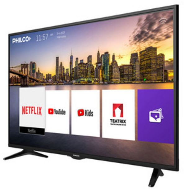 Oferta de SMART TV PHILCO 55 PULGADAS 4K UHD PLD55US9A1 por $57999