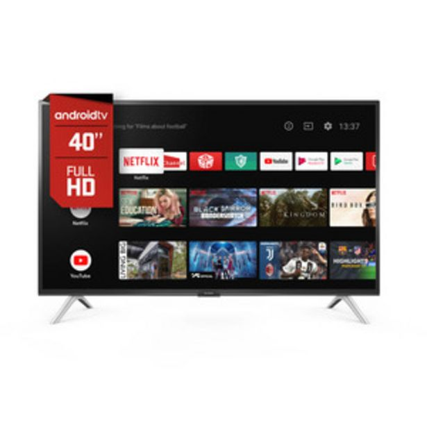 Oferta de ANDROID TV HITACHI 40 PULGADAS LE40SMART17 por $35999