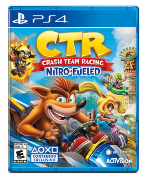 Oferta de CRASH TEAM RACING LATAM PS4 por $5999