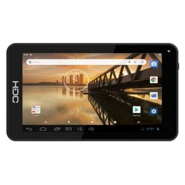 "Oferta de TABLET HDC H7 ONE 7"" 16 GB NEGRO por $6999"
