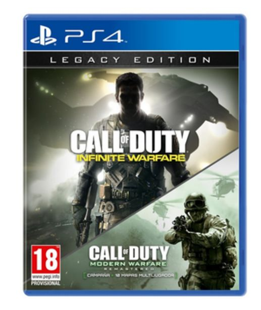 Oferta de CALL OF DUTY INF W PS4 LEGACY por $999