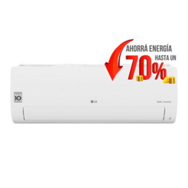 Oferta de AIRE ACONDICIONADO SPLIT LG S4-W12JA3AA FRIO CALOR 3027 FRIGORIAS por $74999